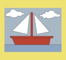 Sailboat - The Simpsons Kids Tee
