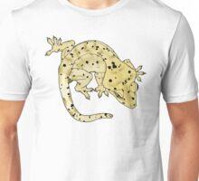 Cream Dalmation Crested Gecko Unisex T-Shirt