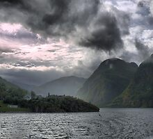Travelling on the Sognefjord Ferry  by Larry Lingard-Davis
