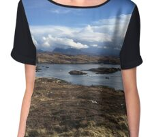 Scottish Highlands Chiffon Top