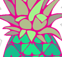 Colorful Pineapple Sticker