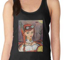 Steampunk Faerie Watercolour Pastel Women's Tank Top
