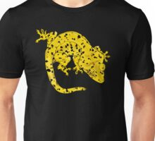 Yellow Dalmation Crested Gecko Unisex T-Shirt