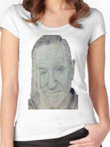 Robin Williams Women's Fitted Scoop T-Shirt