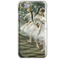 Edgar Degas - The Ballet  iPhone Case/Skin