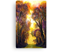 Colour of Trees Canvas Print