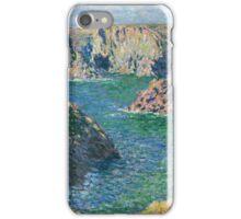 Claude Monet - Port Donnant Belle Ile iPhone Case/Skin