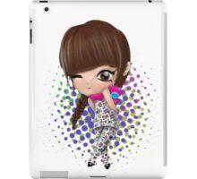 i love you Bom iPad Case/Skin