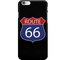 Route 66 Road Sign iPhone Case/Skin