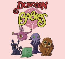 Dungeon Babies Kids Tee