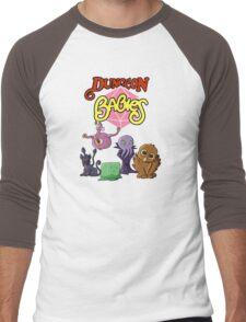 Dungeon Babies Men's Baseball ¾ T-Shirt