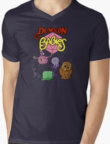 Dungeon Babies Mens V-Neck T-Shirt