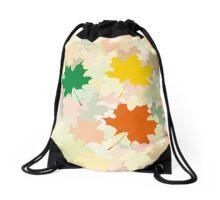 Maple leaves Drawstring Bag