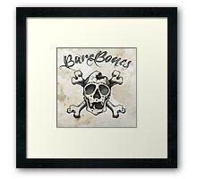 Bare Bones Framed Print