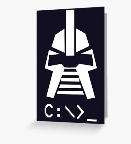 By Your Command Prompt Fraking Funny Greeting Card