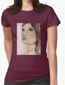 D'Fair Lady Womens Fitted T-Shirt