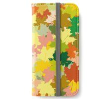 Maple leaves iPhone Wallet/Case/Skin