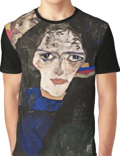 Egon Schiele - Mourning Woman (1912)  Graphic T-Shirt