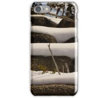 Snow Layers  iPhone Case/Skin