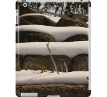 Snow Layers  iPad Case/Skin