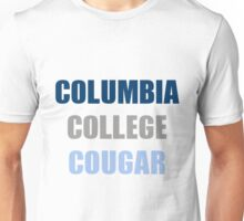 columbia college cougar Unisex T-Shirt