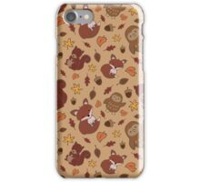 Cute Autumn Pattern  iPhone Case/Skin