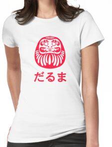 Daruma / だるま / 達磨 Womens Fitted T-Shirt