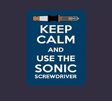 Keep Calm And Use The Sonic Screwdriver! Unisex T-Shirt
