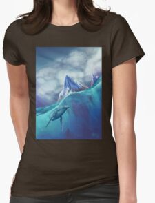 Winter Water Womens Fitted T-Shirt