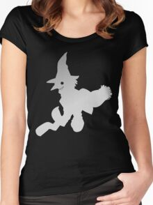 soul eater- witch order Women's Fitted Scoop T-Shirt