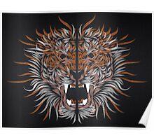 tiger line Poster