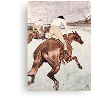 Henri de Toulouse Lautrec -  The Jockey (1899)  Canvas Print