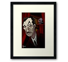 Mr. Vincent Price Framed Print