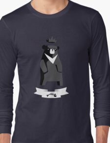 Moon Bear Shirt Long Sleeve T-Shirt