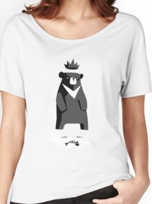 Moon Bear Shirt Women's Relaxed Fit T-Shirt