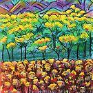 Pastels - Wattle season by Georgie Sharp