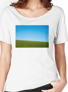 Grass and sky Women's Relaxed Fit T-Shirt