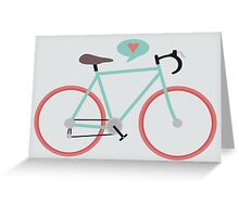 I love cycling Greeting Card