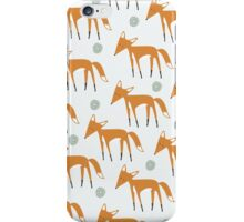 Foxy Pattern iPhone Case/Skin