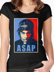 asap Women's Fitted Scoop T-Shirt