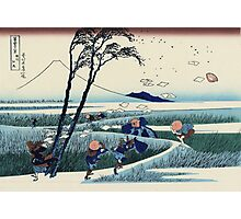 Hokusai Katsushika - Ejiri in Suruga Province Photographic Print