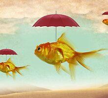 fish umbrellas by Vin  Zzep