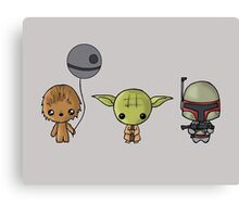 Chibi Wars Canvas Print