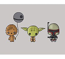 Chibi Wars Photographic Print