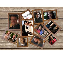 Castle collage frame Photographic Print