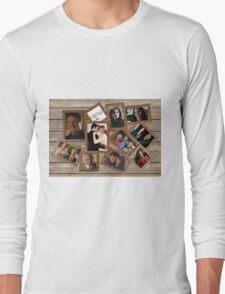 Castle collage frame Long Sleeve T-Shirt