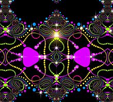 Blacklight Magic Love by webgrrl