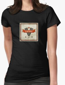 1984 Orwell Victory Gin Womens Fitted T-Shirt