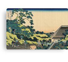 Hokusai Katsushika - Sundai, Edo Canvas Print