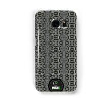 Black Aztec Samsung Galaxy Case/Skin